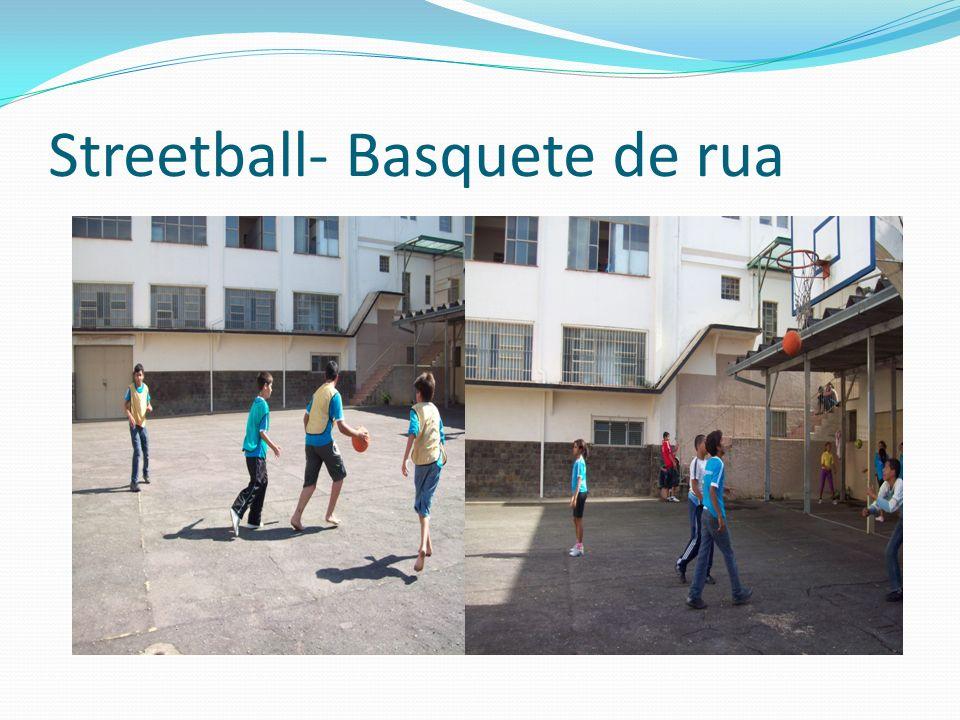 Streetball- Basquete de rua