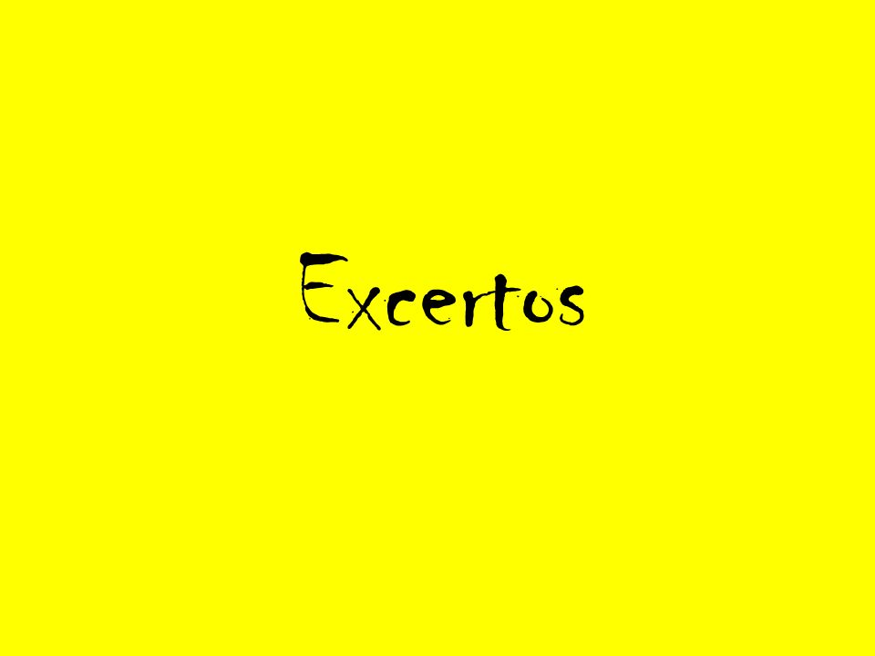 Excertos