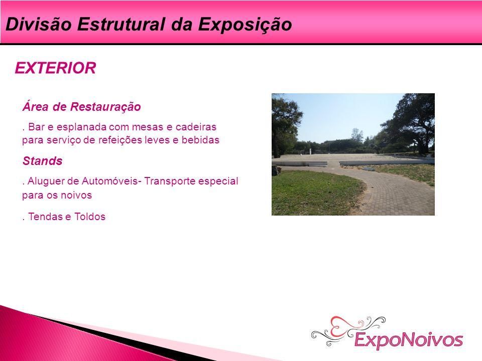 ExpoNoivos Divisão Estrutural da Exposição EXTERIOR