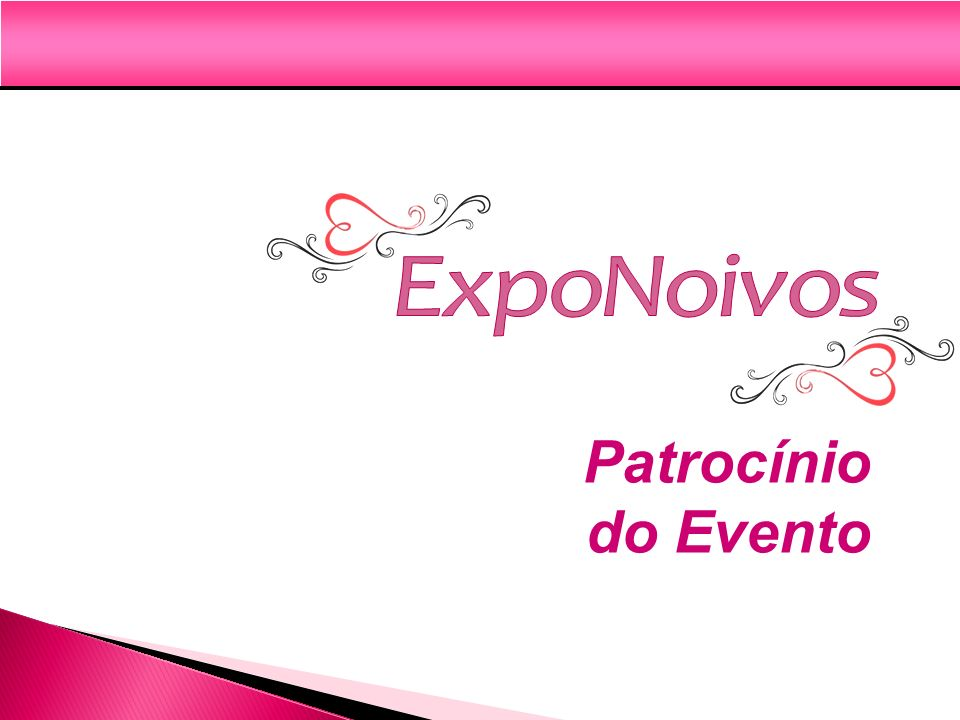 ExpoNoivos Patrocínio do Evento
