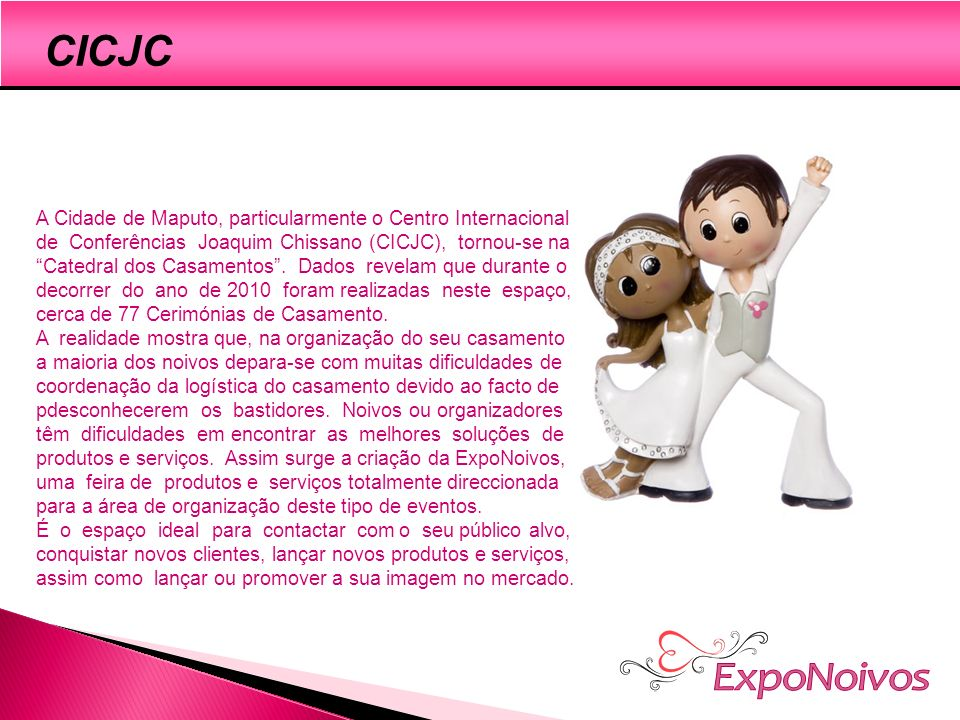 ExpoNoivos CICJC A cidade de Maputo