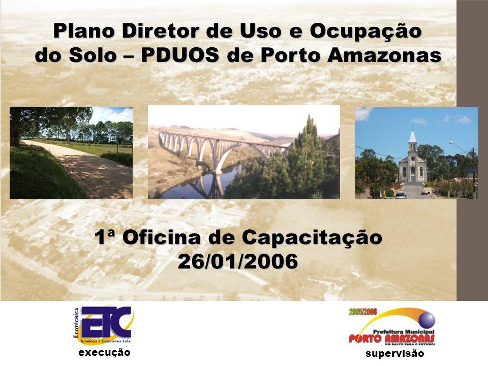 Plano Diretor de Uso e Ocupação do Solo – PDUOS de Porto Amazonas