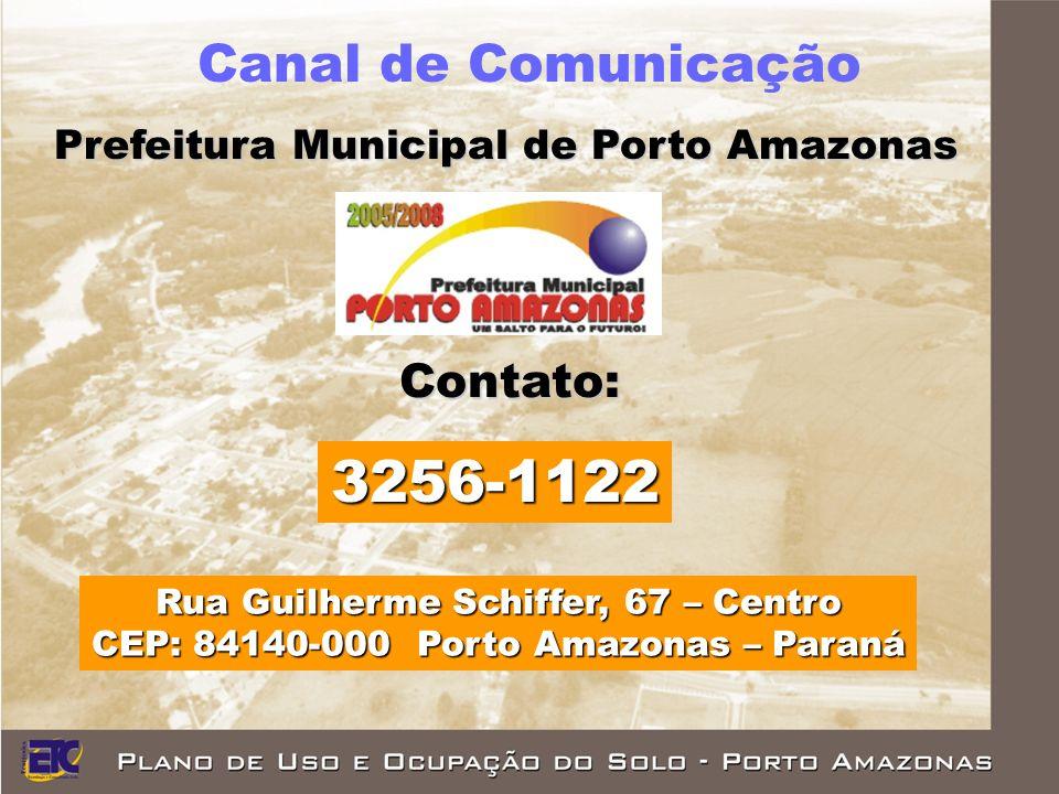 3256-1122 Canal de Comunicação Contato: