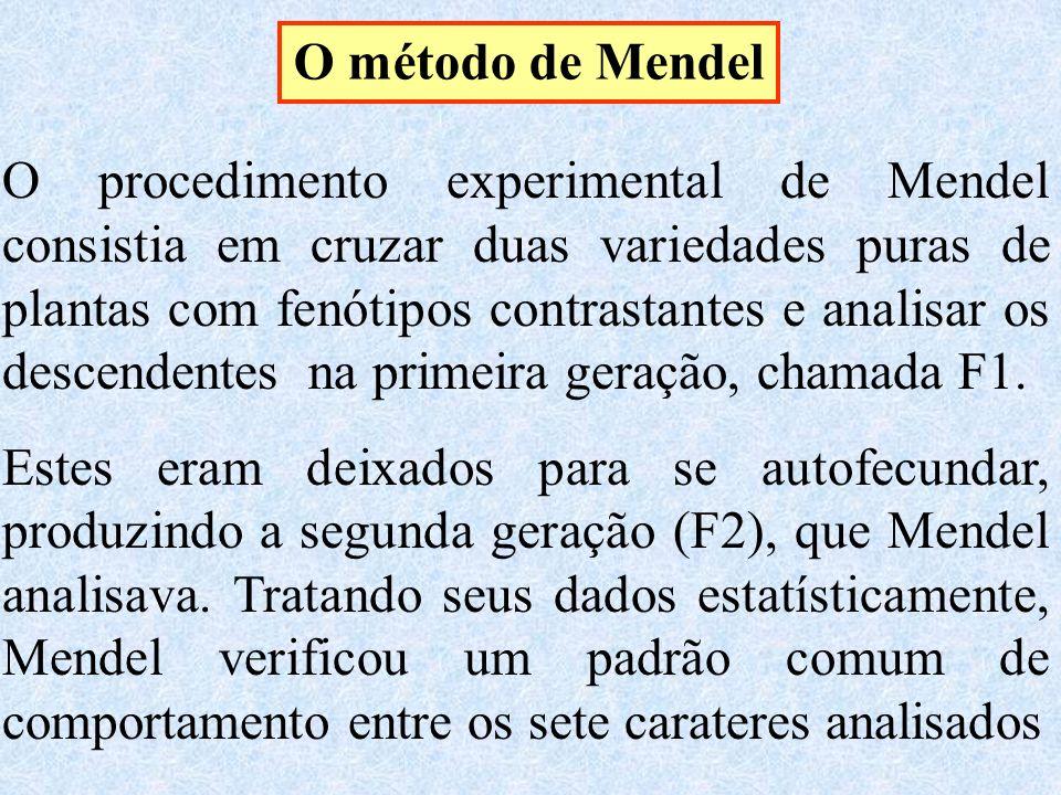 O método de Mendel