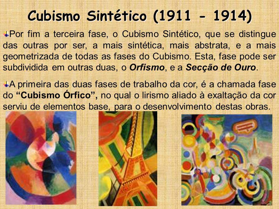 Cubismo Sintético (1911 - 1914)