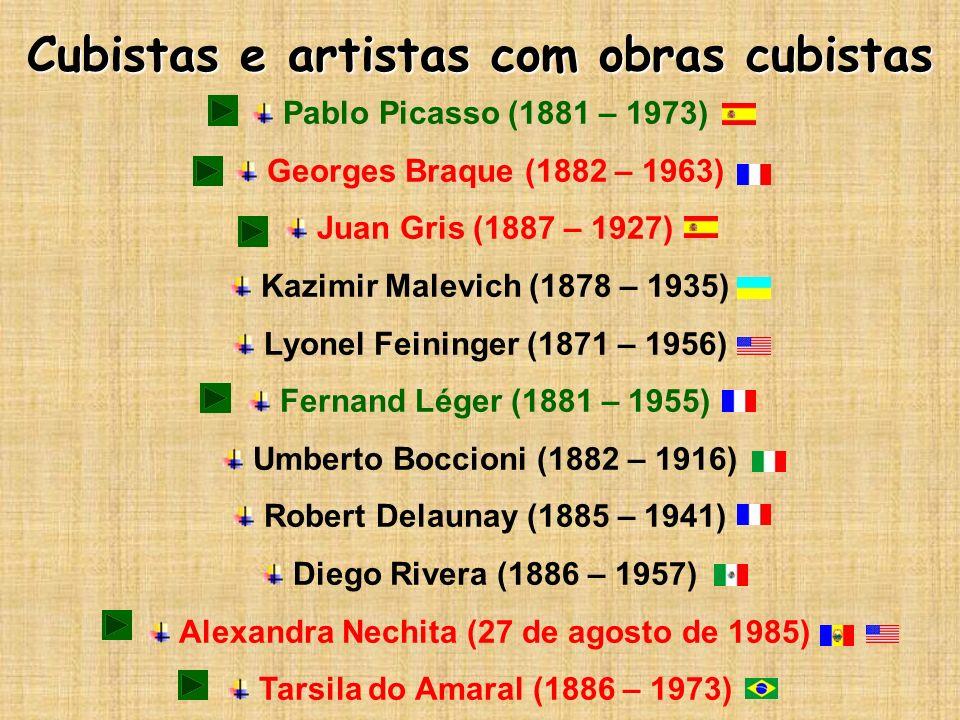 Cubistas e artistas com obras cubistas