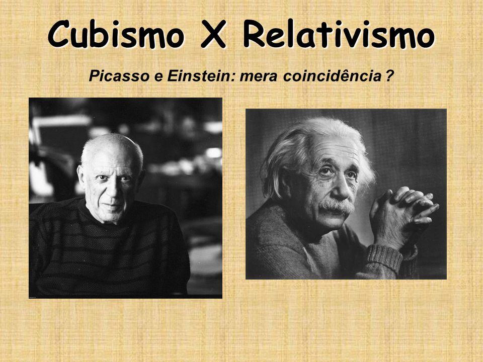 Picasso e Einstein: mera coincidência