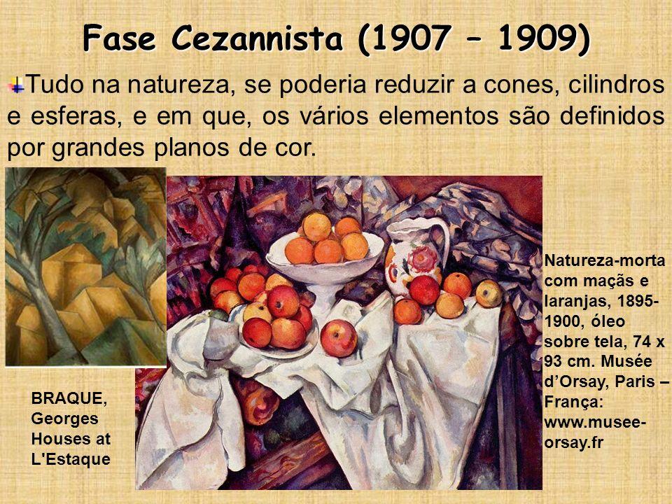 Fase Cezannista (1907 – 1909)