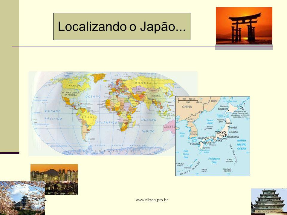 Localizando o Japão... 30/03/2017 www.nilson.pro.br