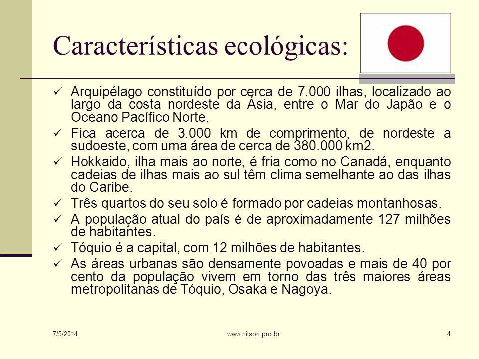 Características ecológicas:
