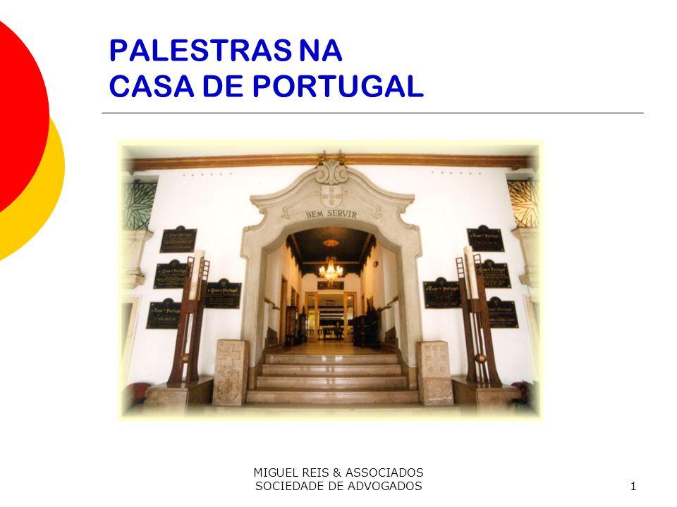 PALESTRAS NA CASA DE PORTUGAL