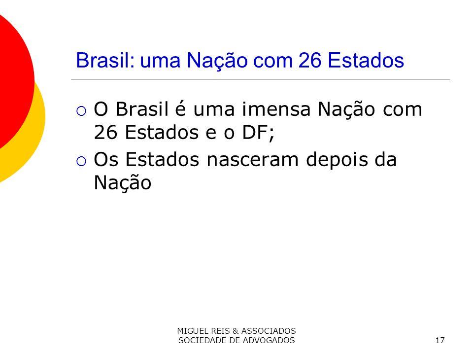 Brasil: uma Nação com 26 Estados