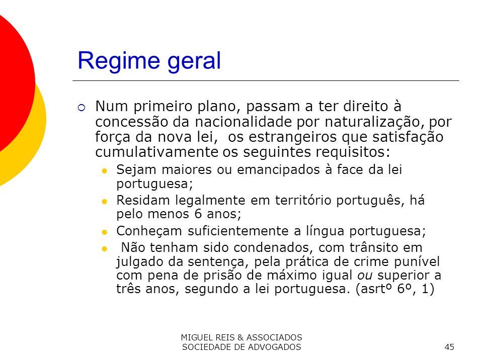 MIGUEL REIS & ASSOCIADOS SOCIEDADE DE ADVOGADOS