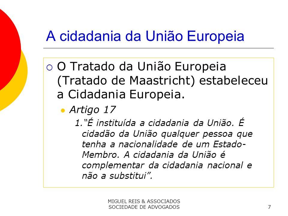 A cidadania da União Europeia