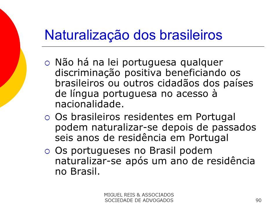 Naturalização dos brasileiros