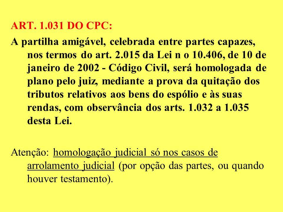 ART. 1.031 DO CPC:
