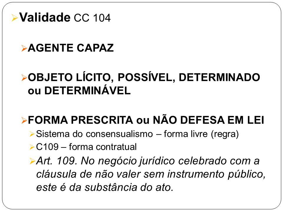 Validade CC 104 AGENTE CAPAZ