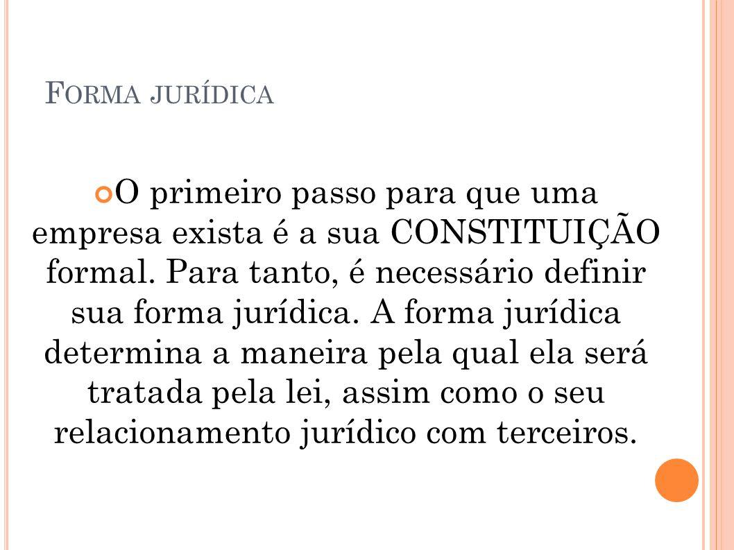 Forma jurídica