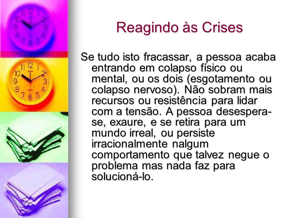 Reagindo às Crises