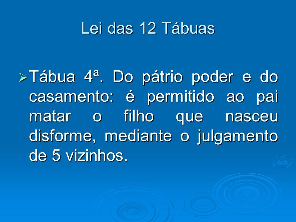 Lei das 12 Tábuas