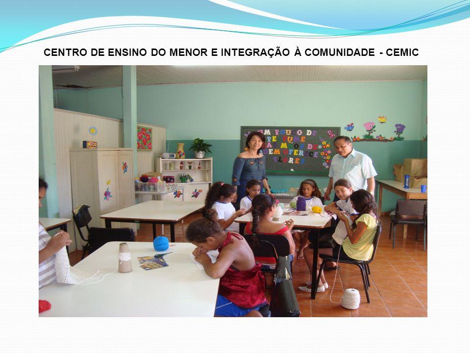 CENTRO DE ENSINO DO MENOR E INTEGRAÇÃO À COMUNIDADE - CEMIC