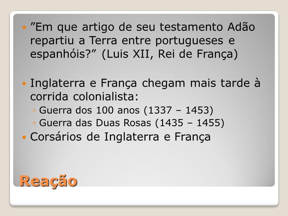 Em que artigo de seu testamento Adão repartiu a Terra entre portugueses e espanhóis (Luis XII, Rei de França)
