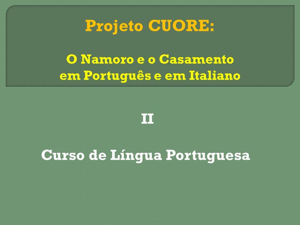 II Curso de Língua Portuguesa