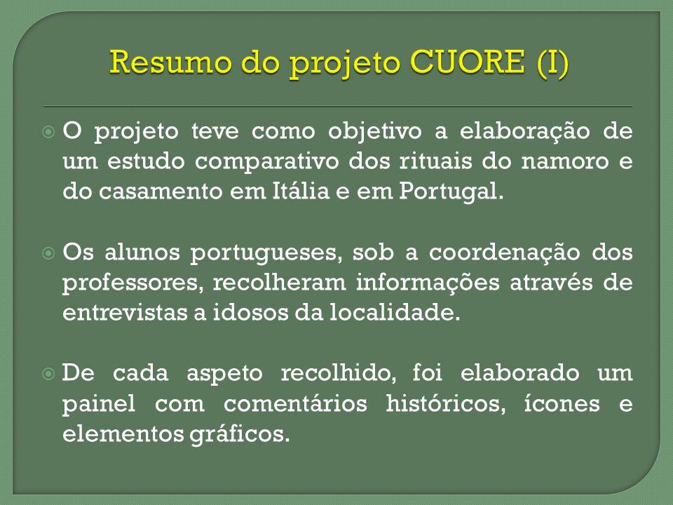 Resumo do projeto CUORE (I)