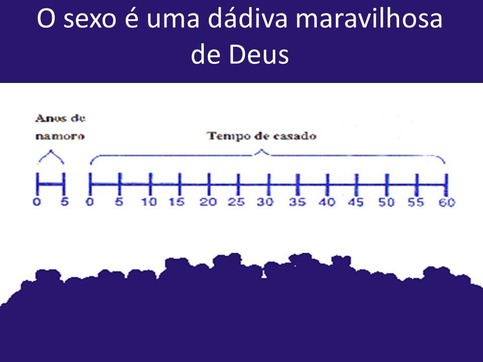 O sexo é uma dádiva maravilhosa de Deus