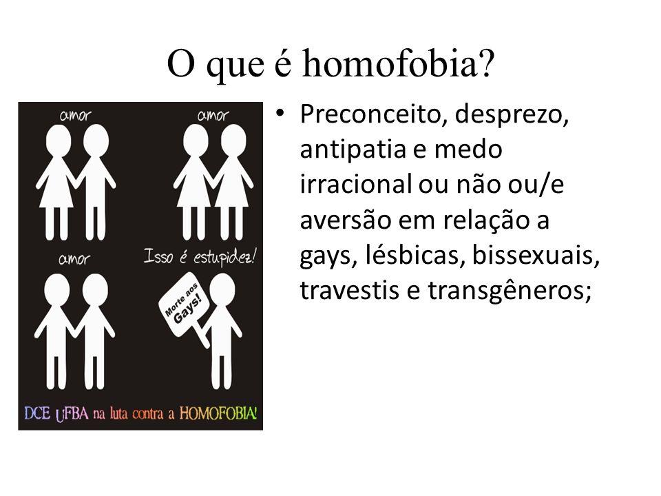 O que é homofobia