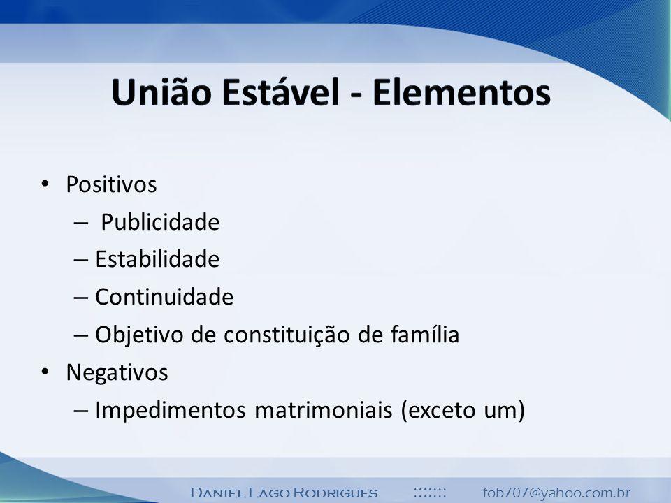 União Estável - Elementos