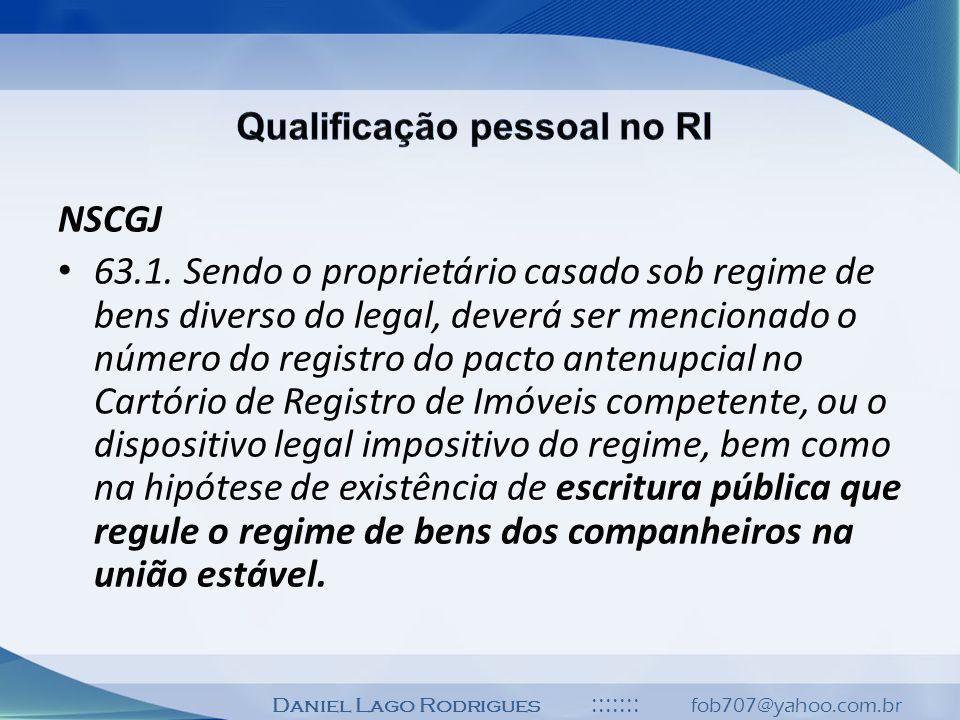 Qualificação pessoal no RI