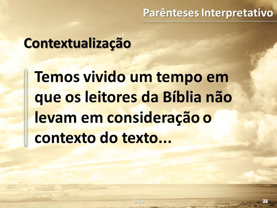 Parênteses Interpretativo