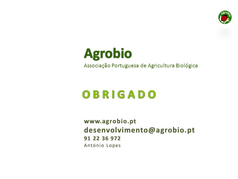 Agrobio O B R I G A D O desenvolvimento@agrobio.pt www.agrobio.pt