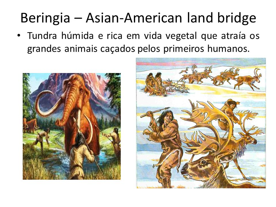 Beringia – Asian-American land bridge