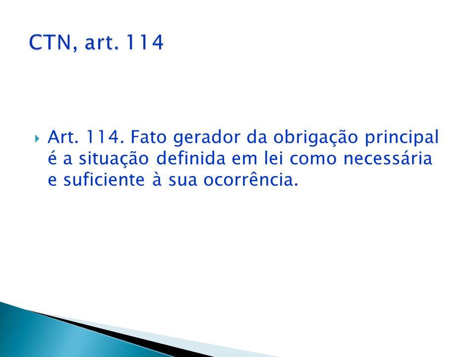 CTN, art. 114 Art. 114.