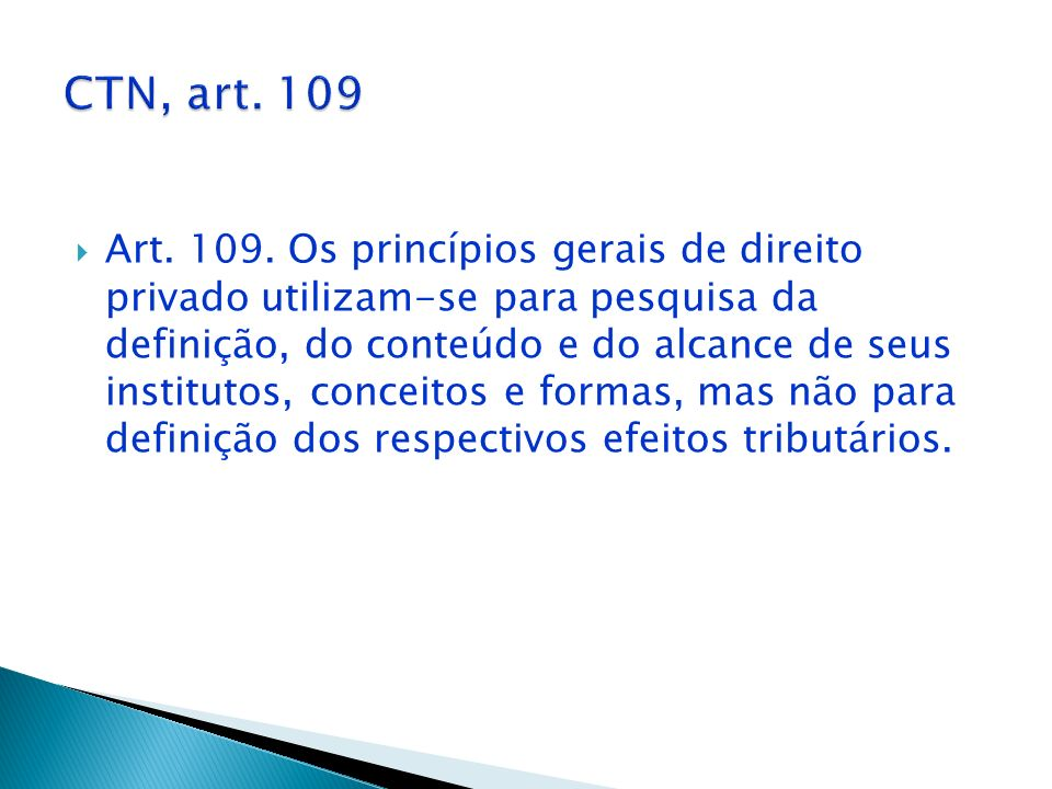 CTN, art. 109