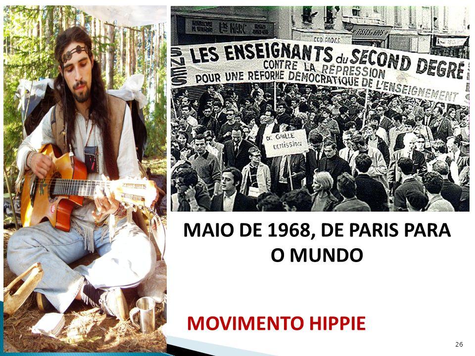 MAIO DE 1968, DE PARIS PARA O MUNDO