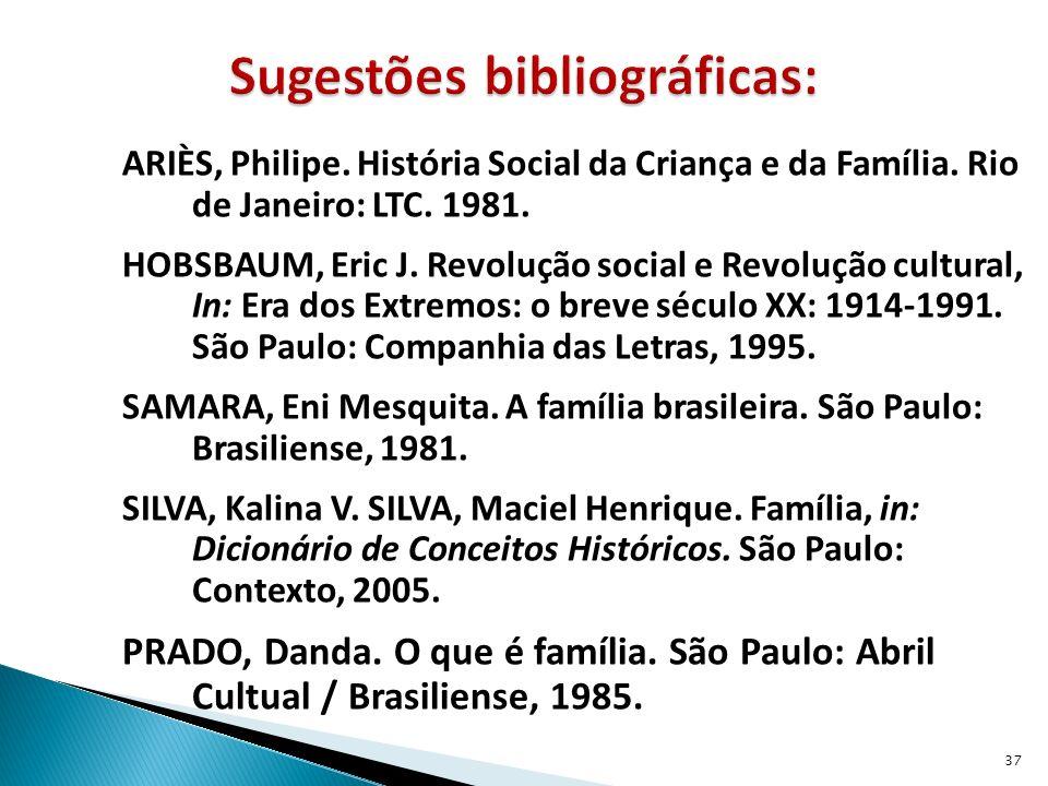 Sugestões bibliográficas: