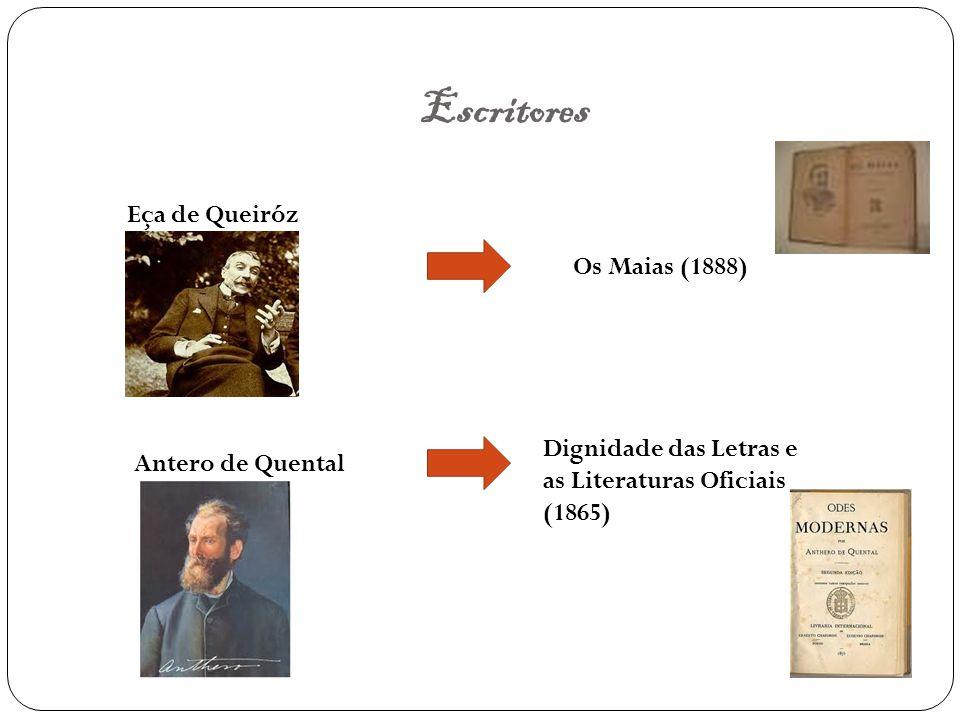 Escritores Eça de Queiróz Os Maias (1888)