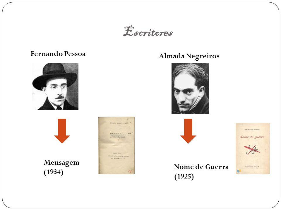 Escritores Fernando Pessoa Almada Negreiros Mensagem (1934)
