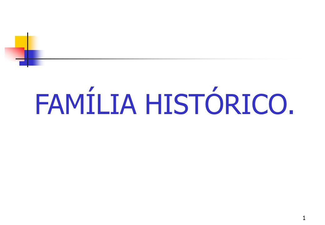 FAMÍLIA HISTÓRICO.
