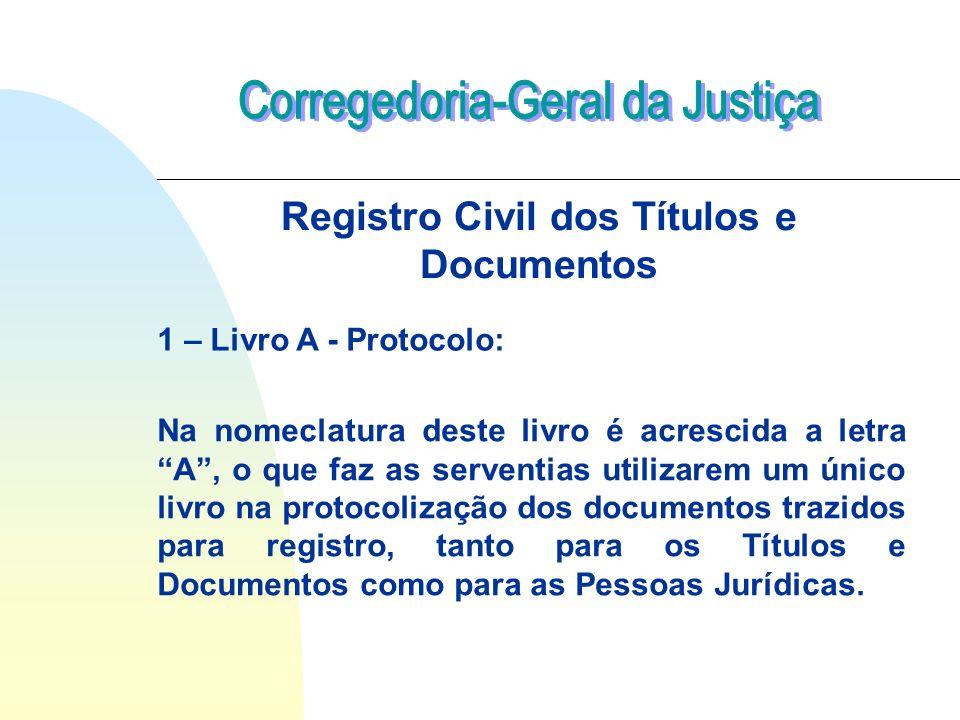 Registro Civil dos Títulos e Documentos