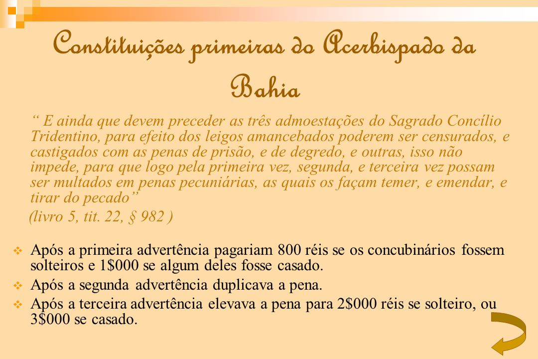 Constituições primeiras do Acerbispado da Bahia