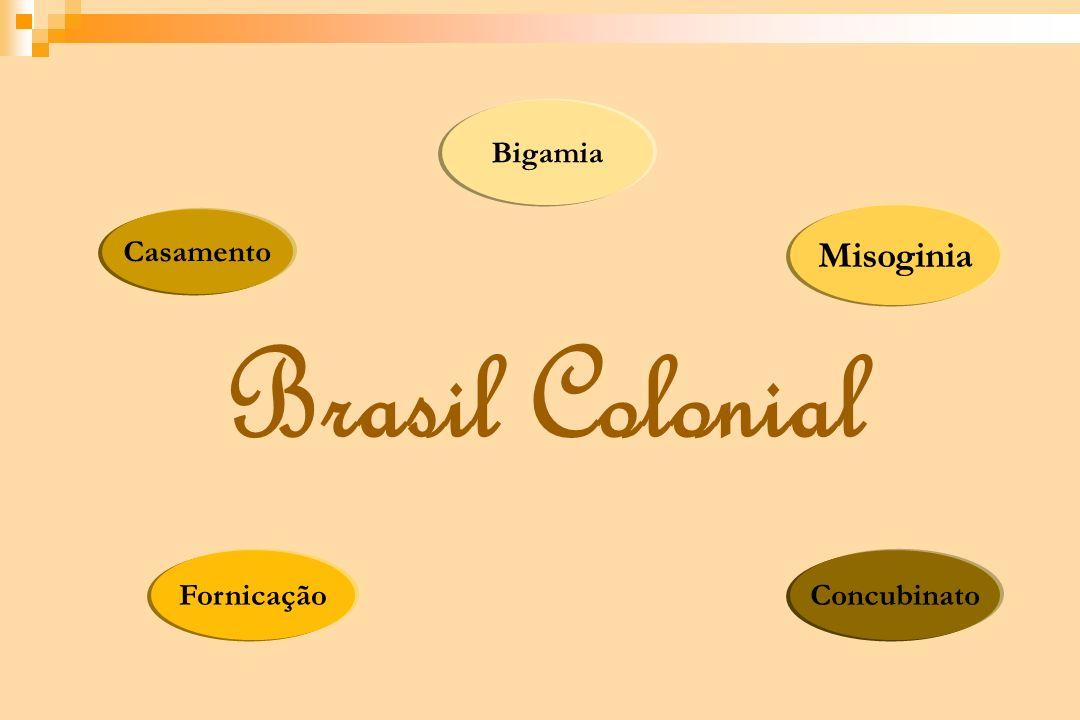 Bigamia Casamento Misoginia Brasil Colonial Fornicação Concubinato