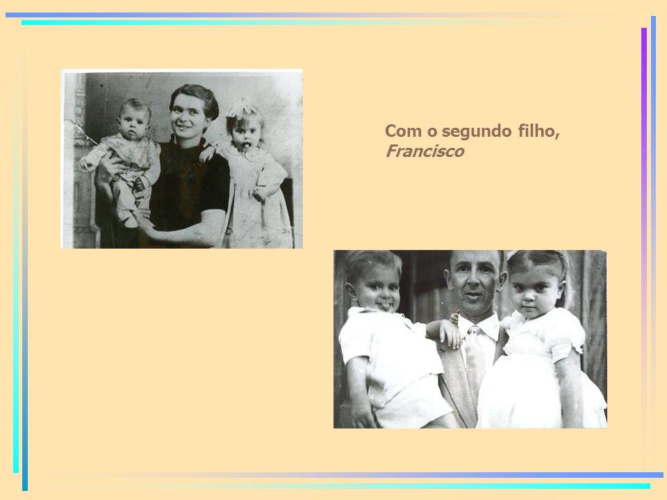 Com o segundo filho, Francisco