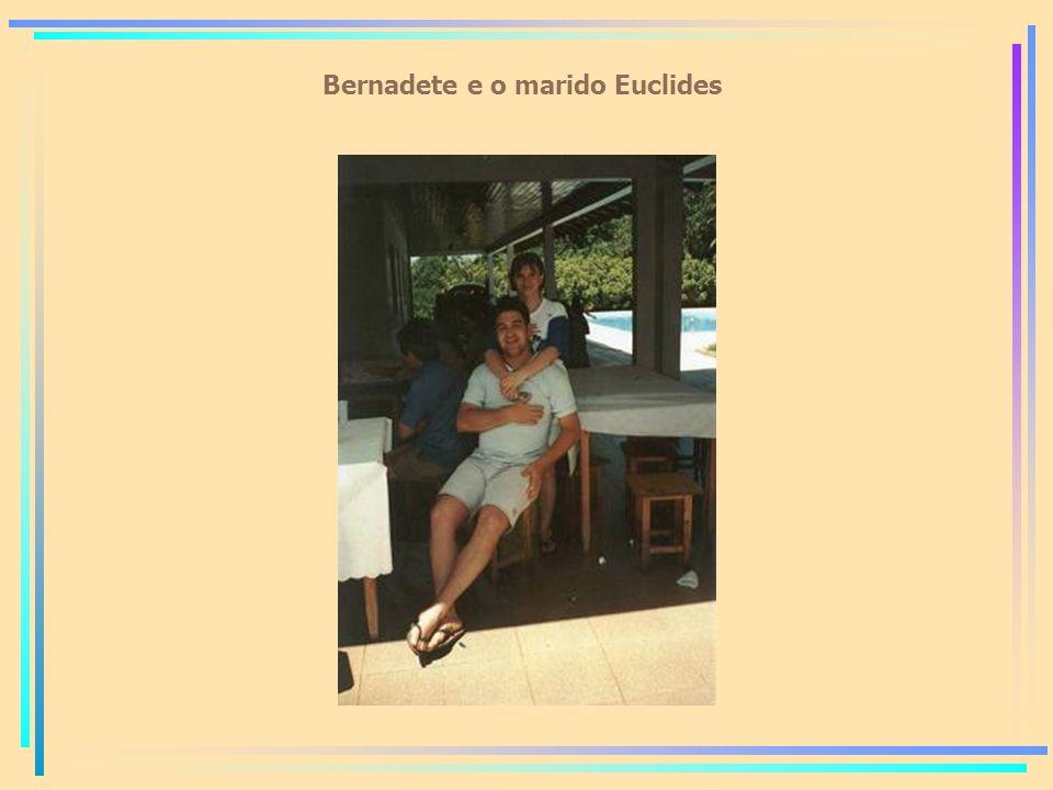Bernadete e o marido Euclides