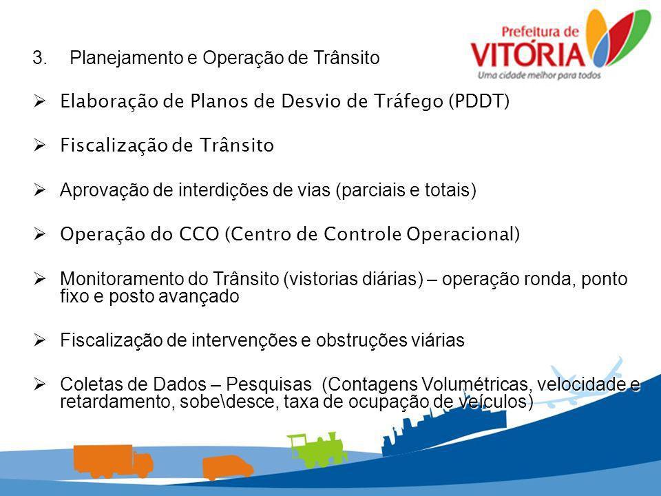 3. Planejamento e Operação de Trânsito