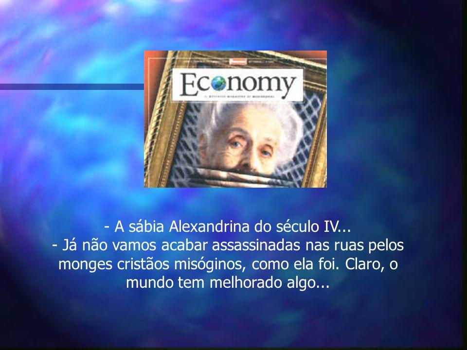 - A sábia Alexandrina do século IV