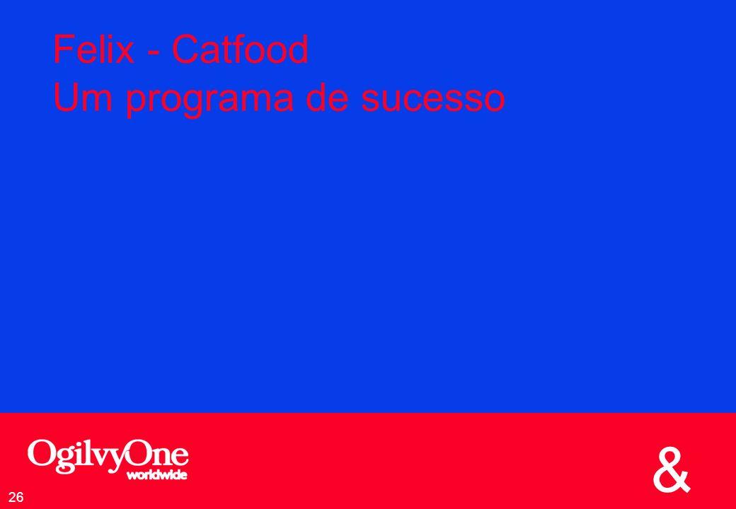 Felix - Catfood Um programa de sucesso